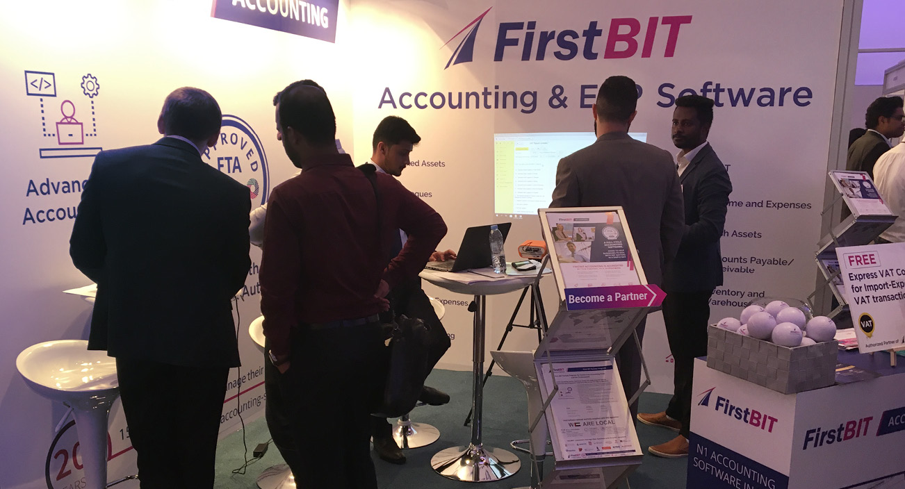 First BIT at Accounting & Finance Show 2018
