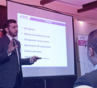 First BIT Hosts VAT Implementation Seminar to Support VAT Awareness-Raising Campaign for UAE SMEs.