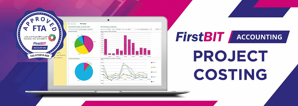 FirstBIT Accounting & ERP made better with new Project Costing feature
