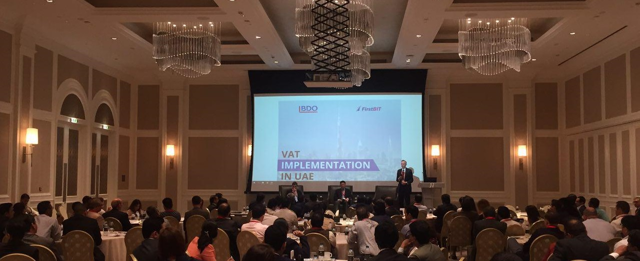 First BIT and BDO give a joint seminar on VAT implementation in the UAE